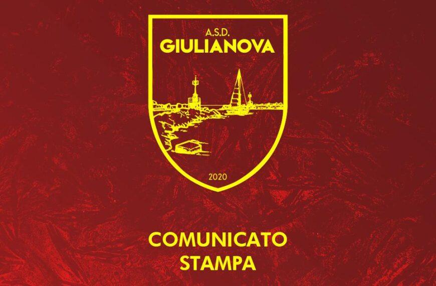 Comunicato Ufficiale: l' ASD Giulianova sospende tutte le attività, anche quelle individuali